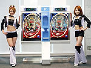 展示会速報パチンコ新機種「CRレーザーシャトル」プレス発表会(藤商事)