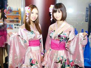 展示会速報「CRスーパー海物語IN沖縄3 桜バージョン」&「CR 咲-Saki-」内覧会(三洋物産)