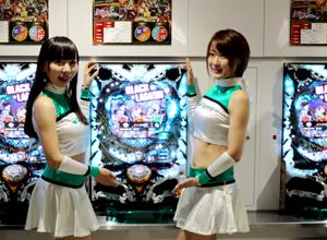 展示会速報「ぱちんこCRブラックラグーン3」の新機種内覧会開催(サミー)