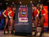 パチンコ新機種「CR銀と金2」プレス発表会(マルホン)