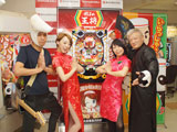 「CR餃子の王将3」新機種発表会開催(豊丸産業)