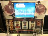 「ニューラッキージャックポット7バージョン」記者発表会開催(岡崎産業)