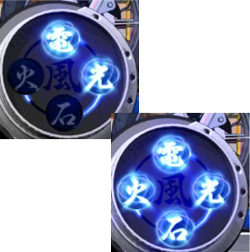 【通常演出】電光石火メーター