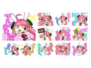 業界ニュース7/4のナナシーの日にちなみ「ナナティーの LUCKY☆DAY スタンプ」販売開始!(TOYOMARU)