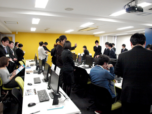 業界ニュース「生徒作品発表会」(G&E)