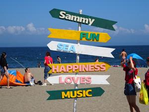 業界ニュース「OTODAMA SEA STUDIO」内にて『Sammy Entertainment Village』を開催中(サミー)